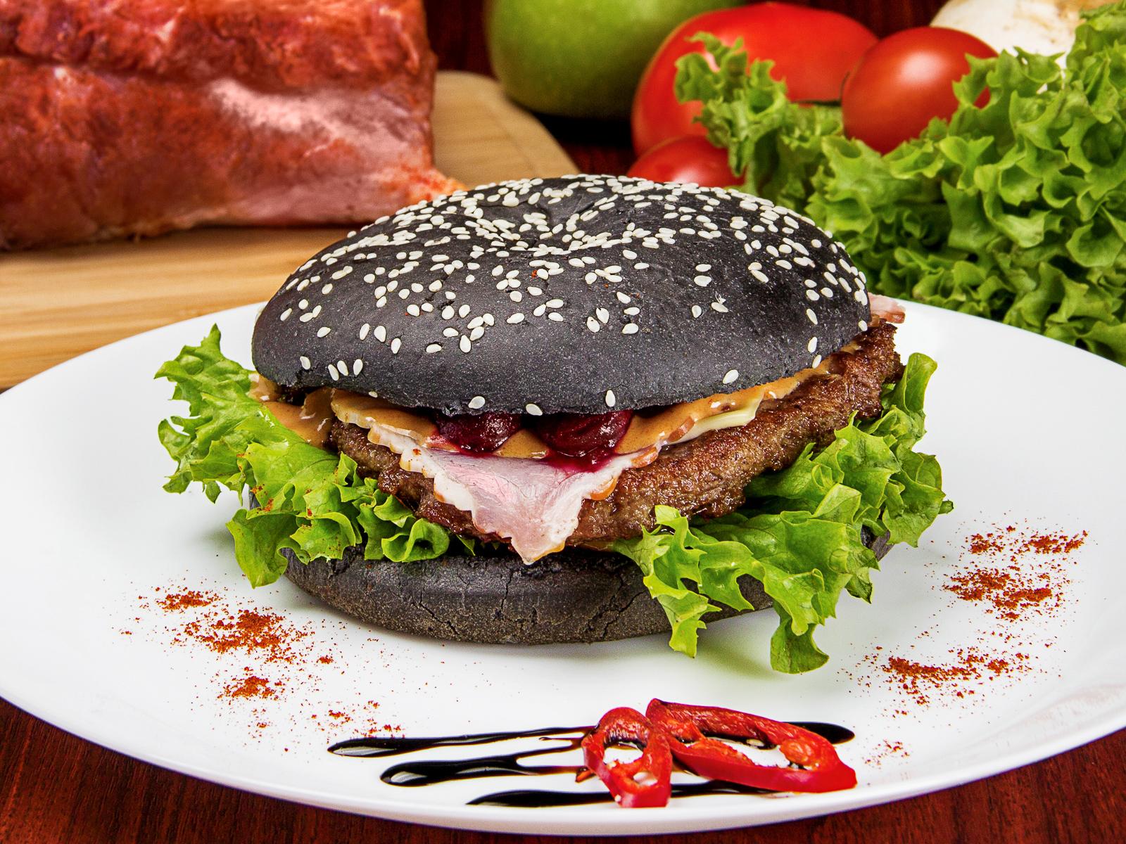 Бургер Черный абердин