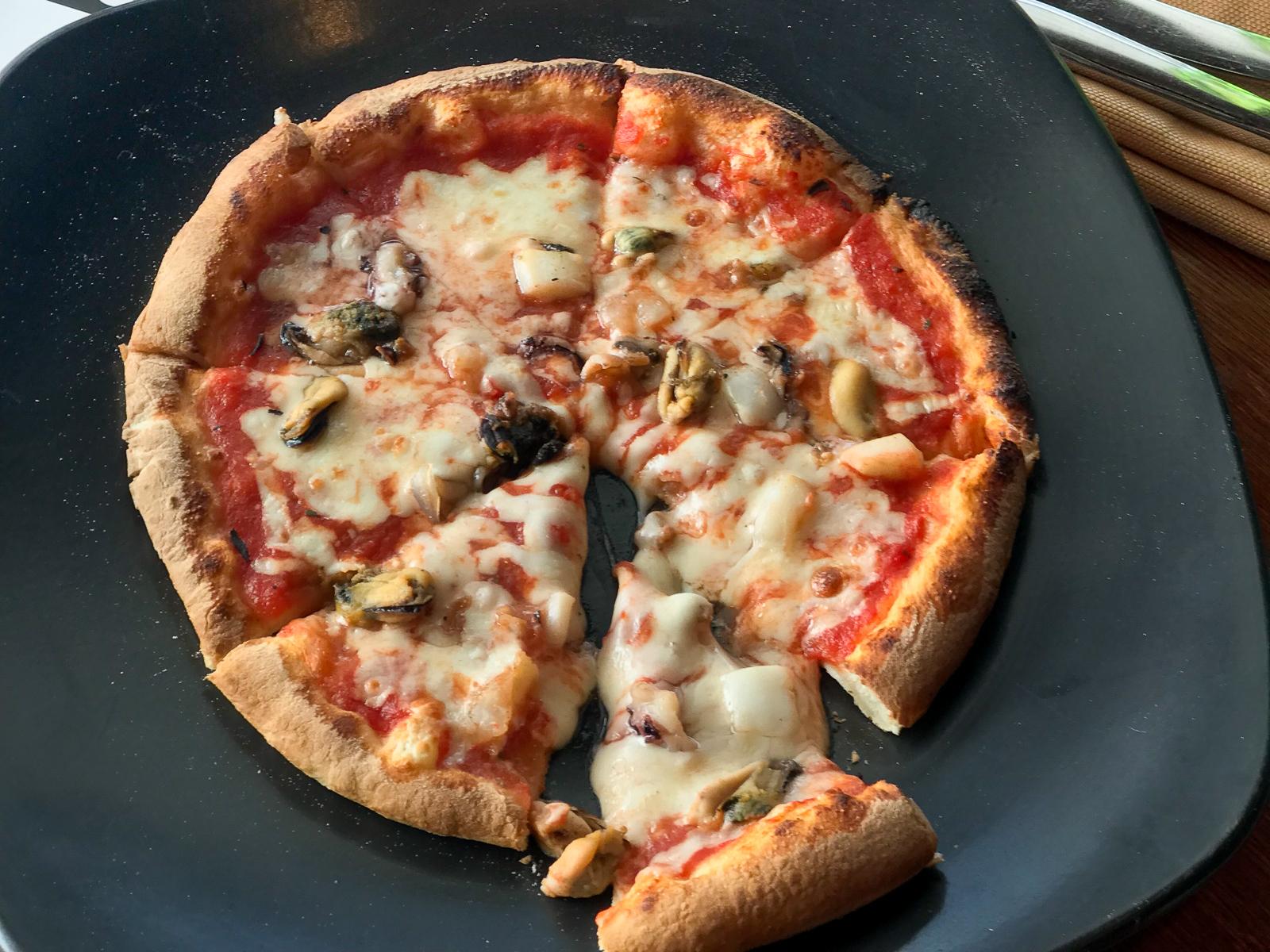 Пицца Фрутте де маре