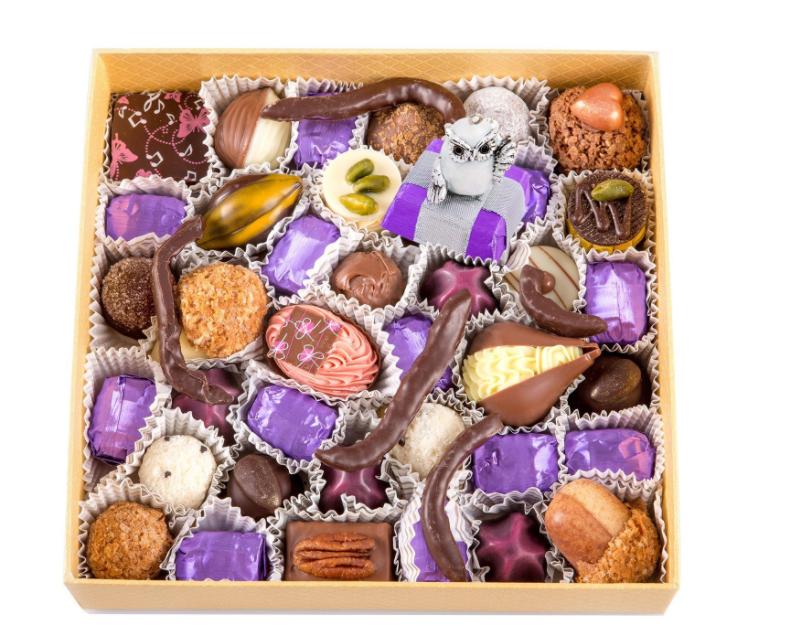 Шоколадный набор Филин