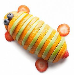 Жук фруктовая тарелка