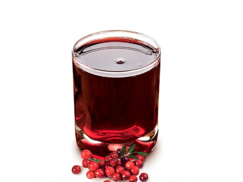 Клюквенно-смородиновый напиток
