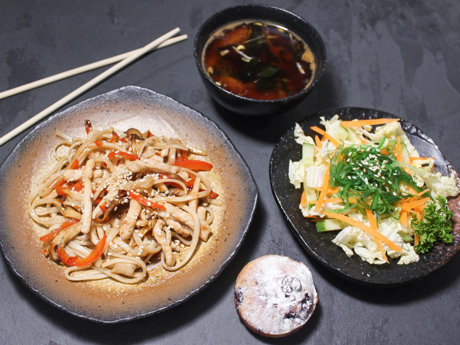 Бенто-ланч №4 с мисо супом