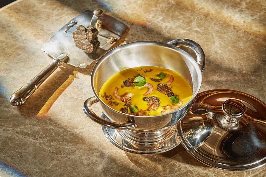 Тыквенный суп с трюфелем