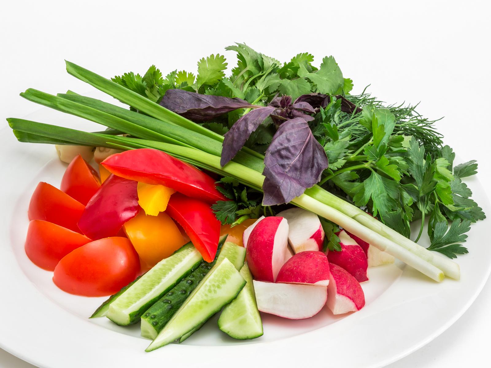 Садовые овощи
