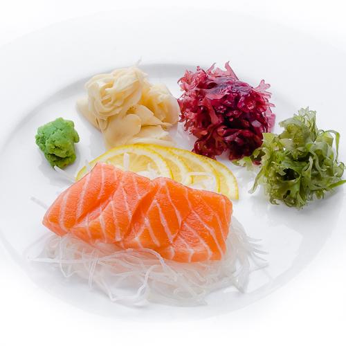 Сашими сяке лосось