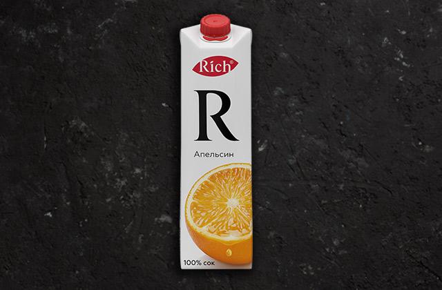Сок Апельсиновый пакет