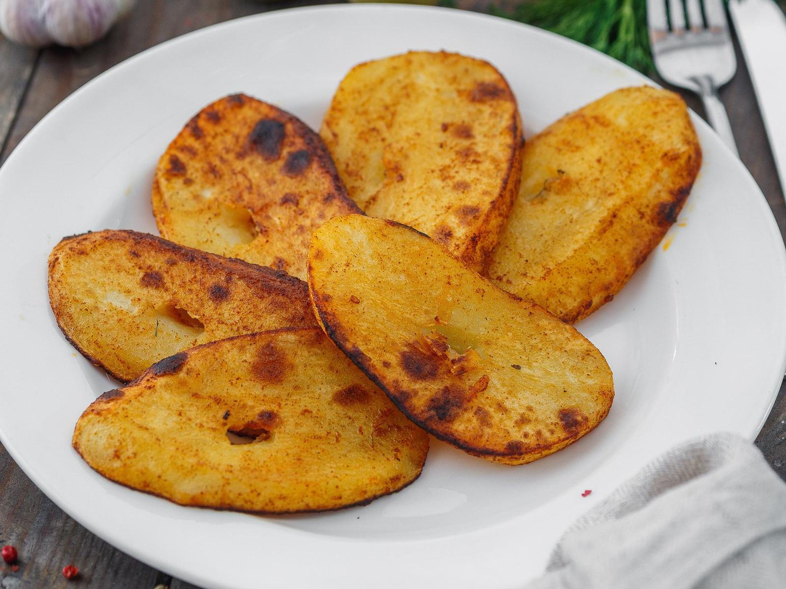 Картофель на огне