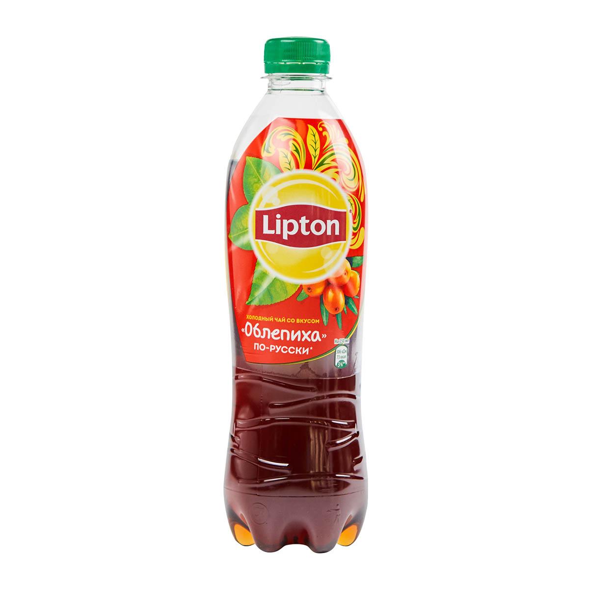Lipton ice tea облепиха