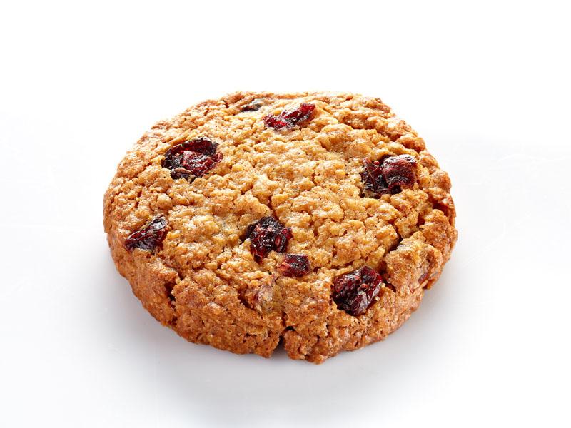 Печенье овсяное с клюквой