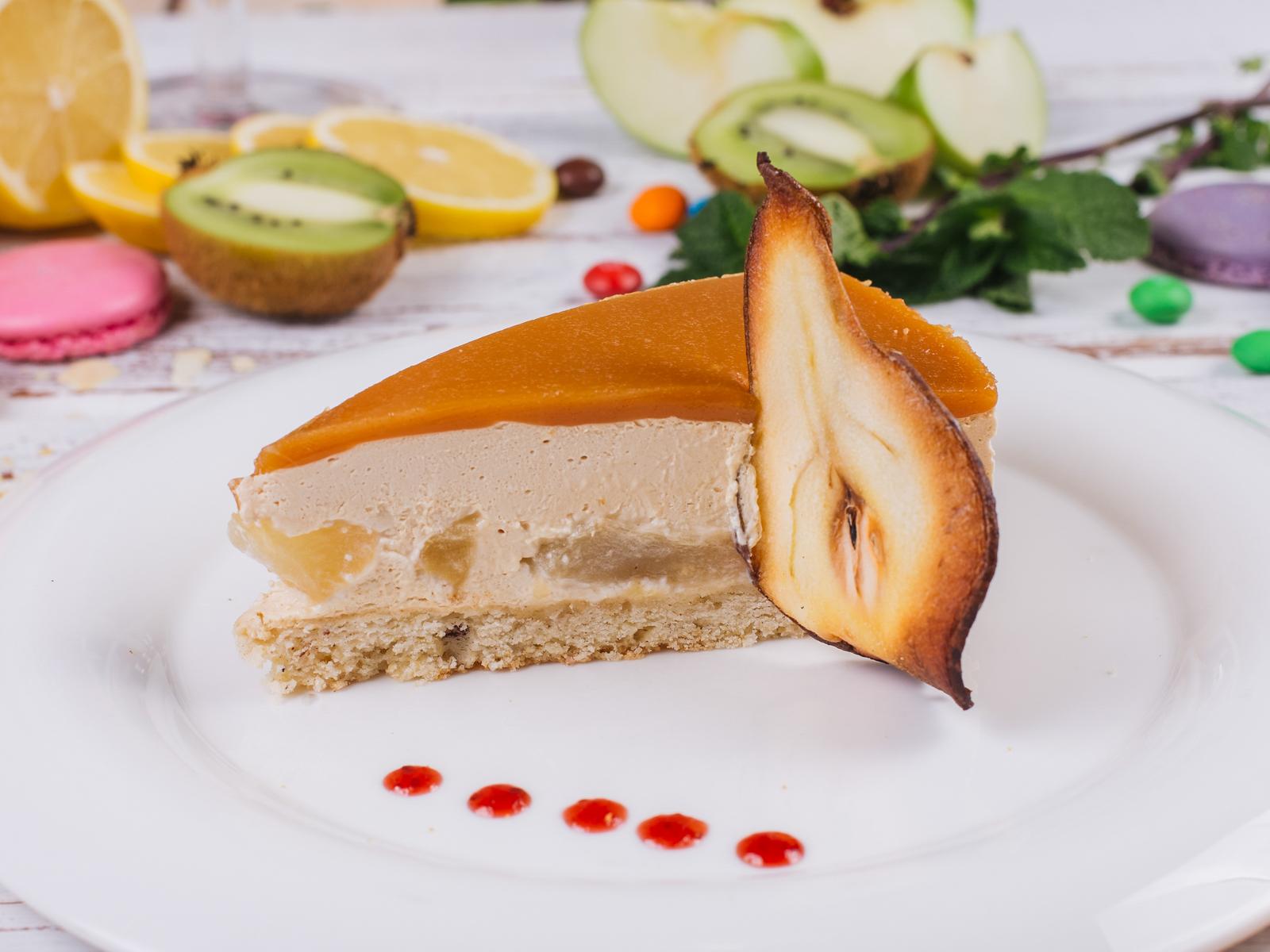 Торт Карамельно-грушевый