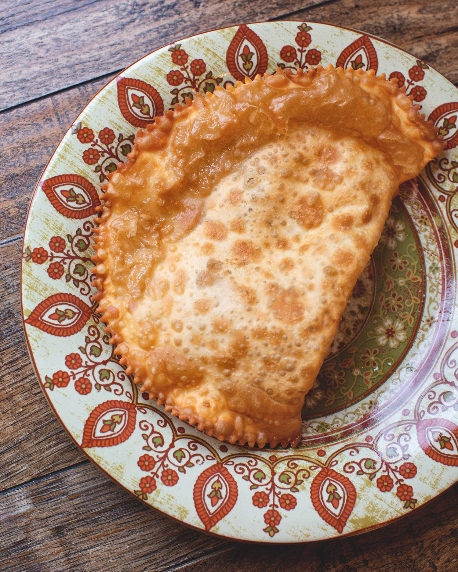 Чебурек с мятой и сыром