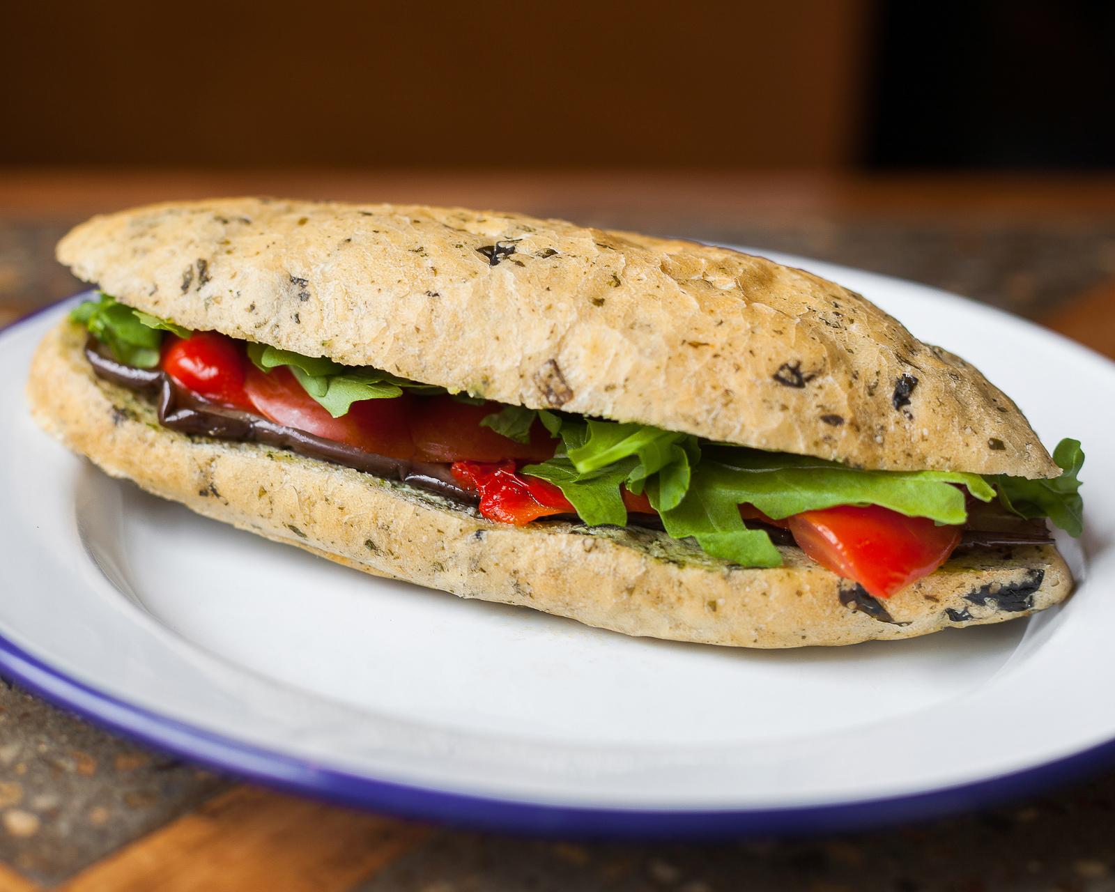 Овощной сэндвич