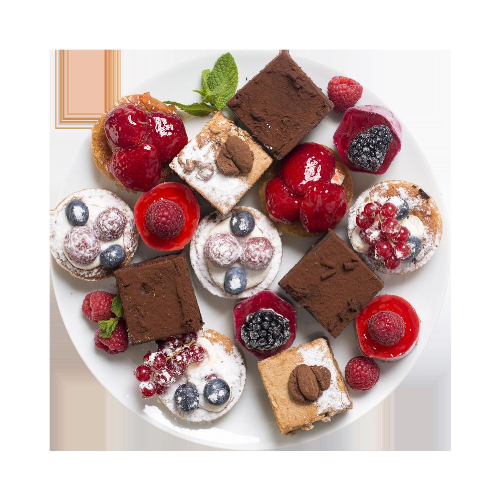 Набор мини пирожных Selection