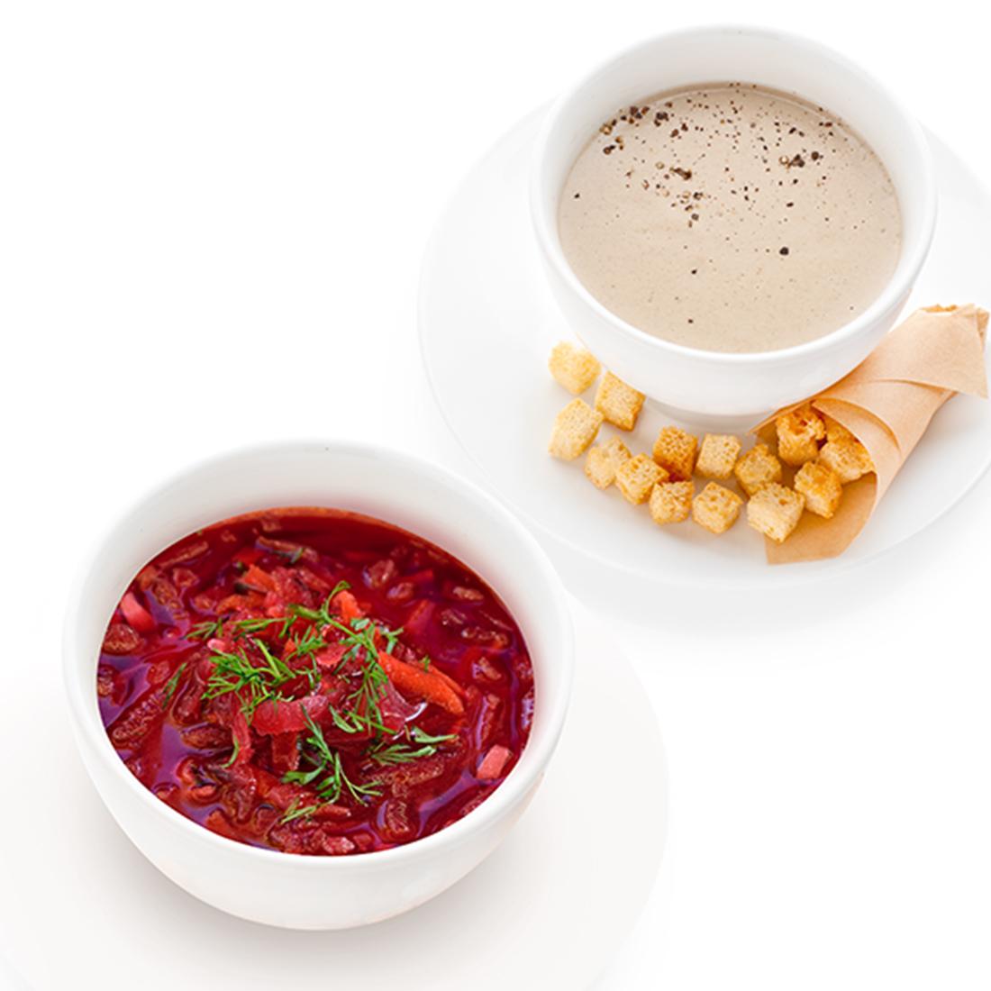 Сезонный щавелевый суп
