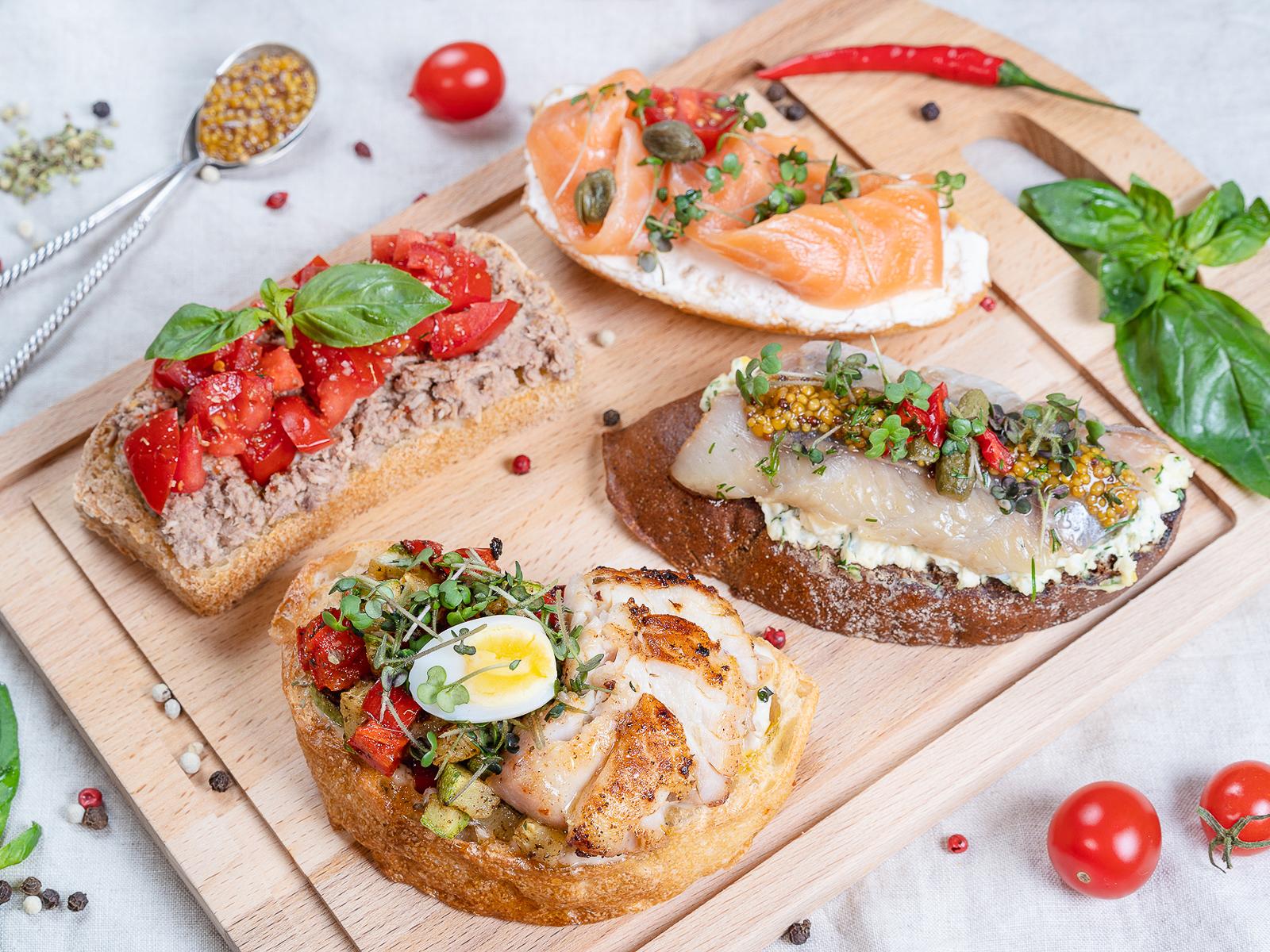 Сет бутербродный Море рядом