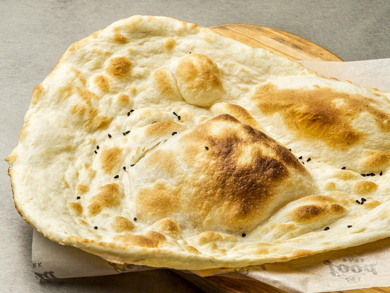 Хлеб Чесночный Наан