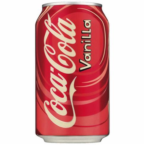 Газ. нап. Coca-Cola Vanilla 355 мл.