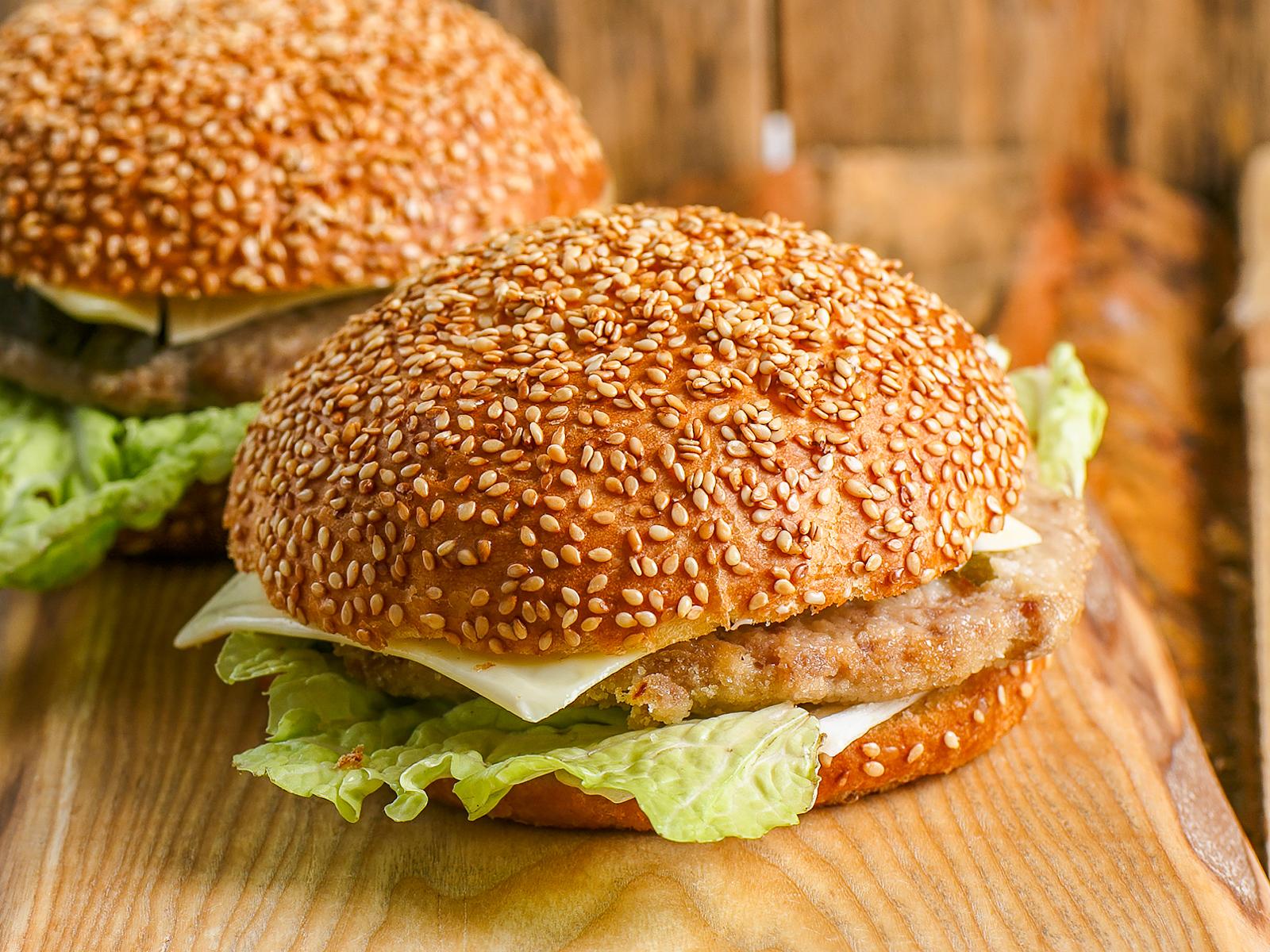Чизбургер по-домашнему