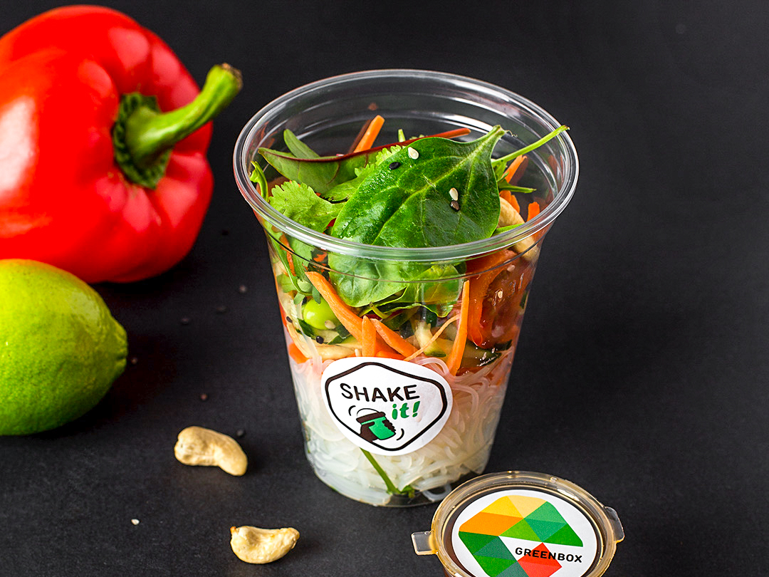 Тайский шейк-салат