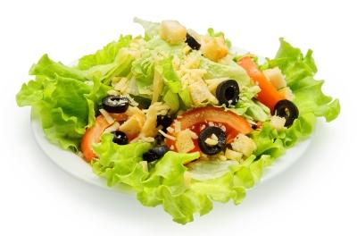 Салат Цезарь овощной
