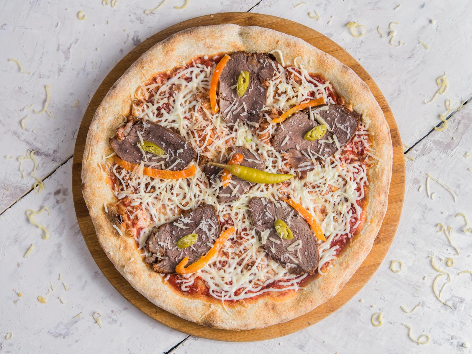 Пицца Острая телятина
