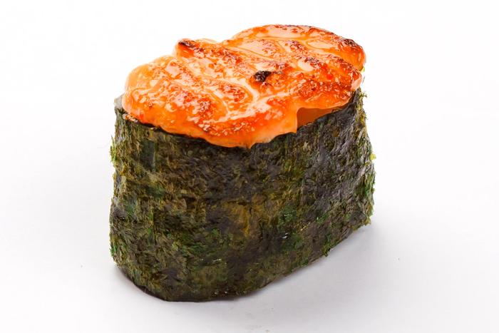 Запеченные суши: Спайси унаги