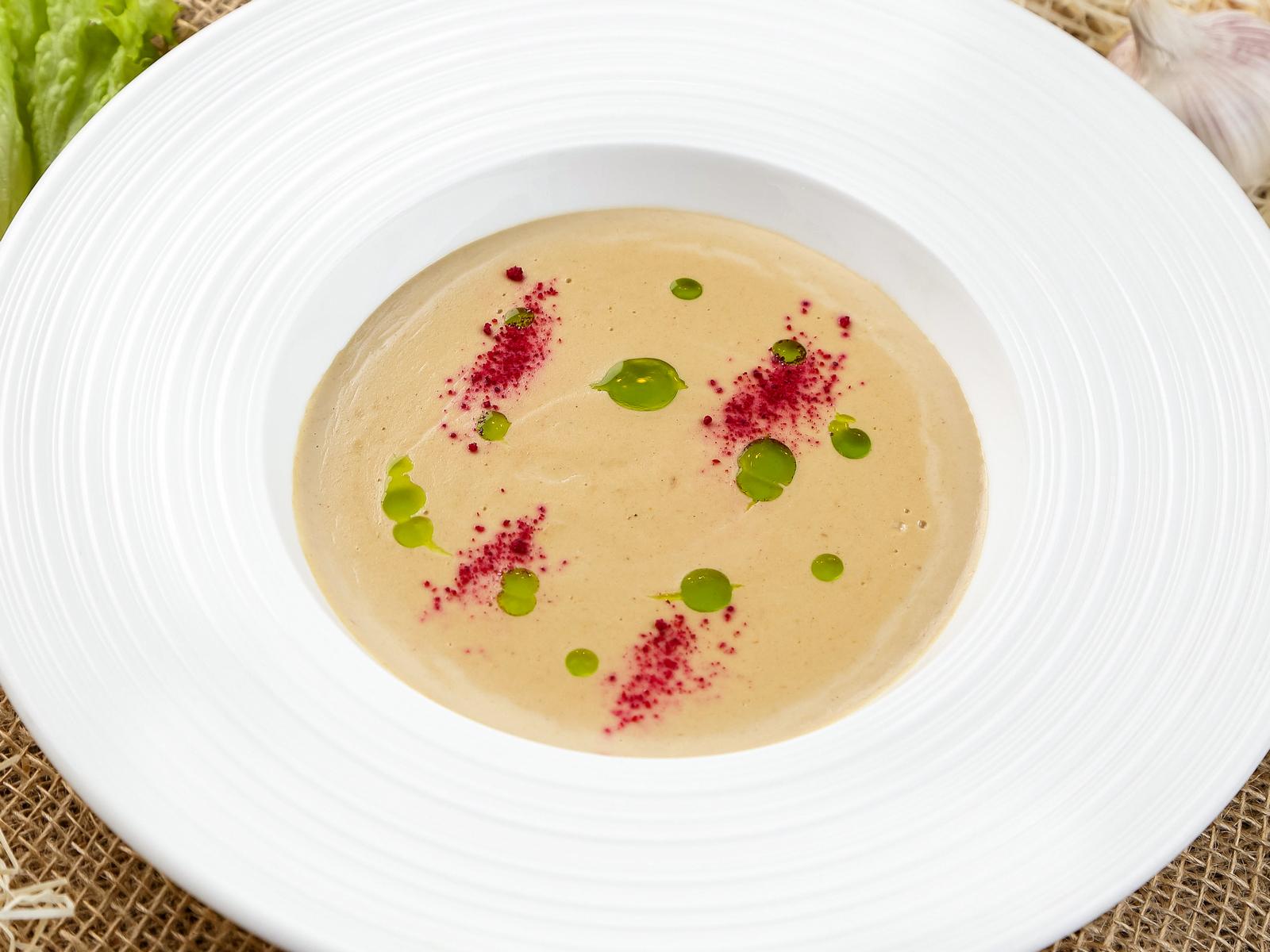 Крем-суп из уральских грибов