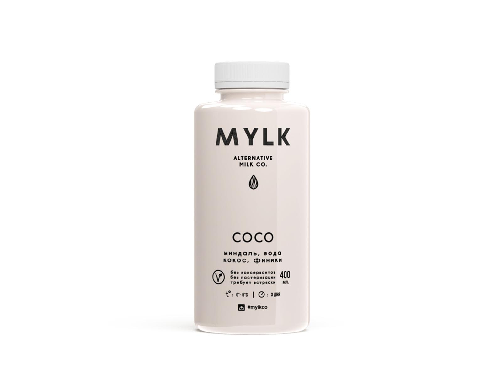 Миндальное молоко со вкусом кокоса COCO