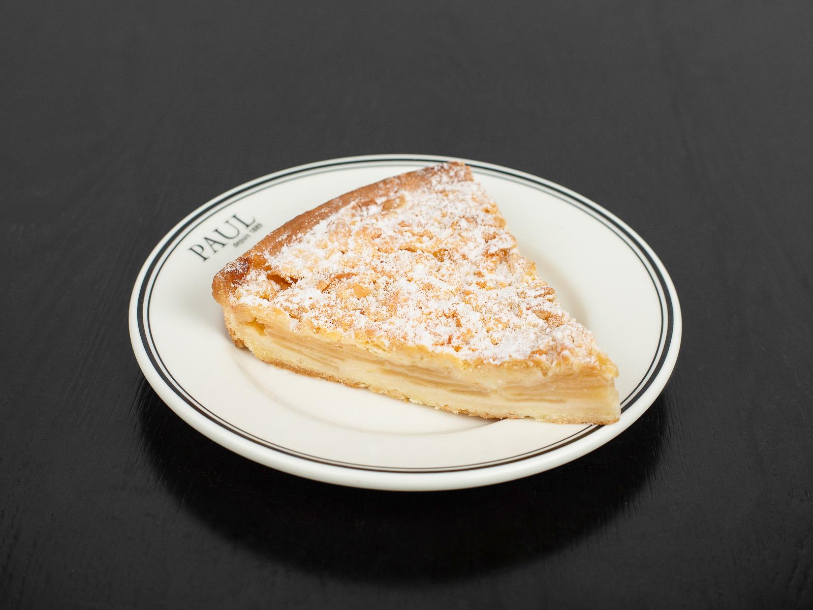 Пирог с яблоком (порция)