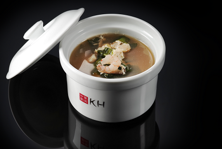 Суп с морепродуктами \