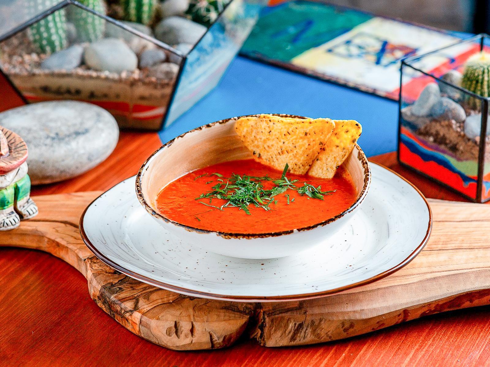 Суп Томатная сальса