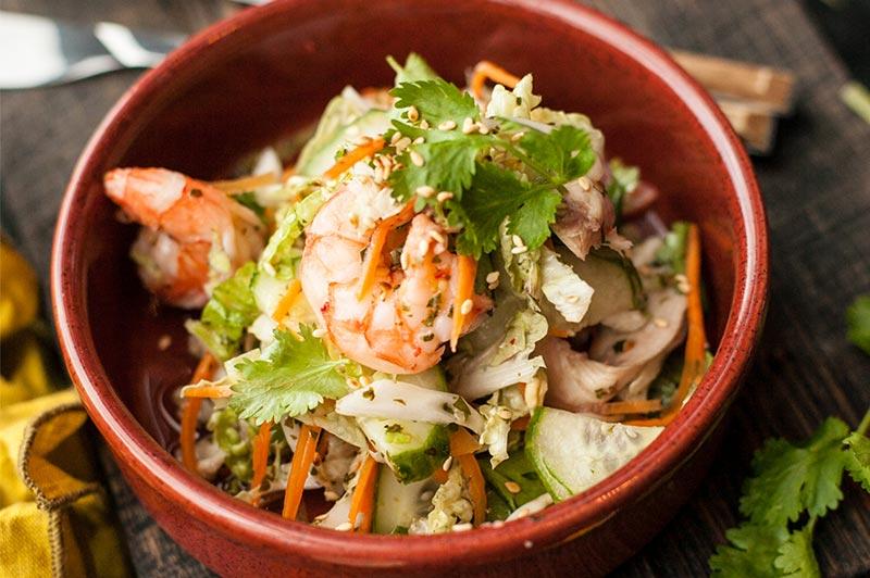 Вьетнамский салат коул слоу