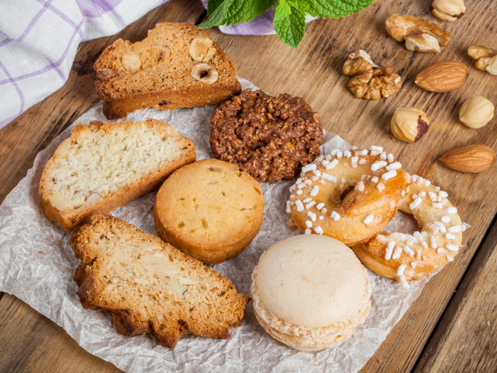 Ассорти домашнего печенья