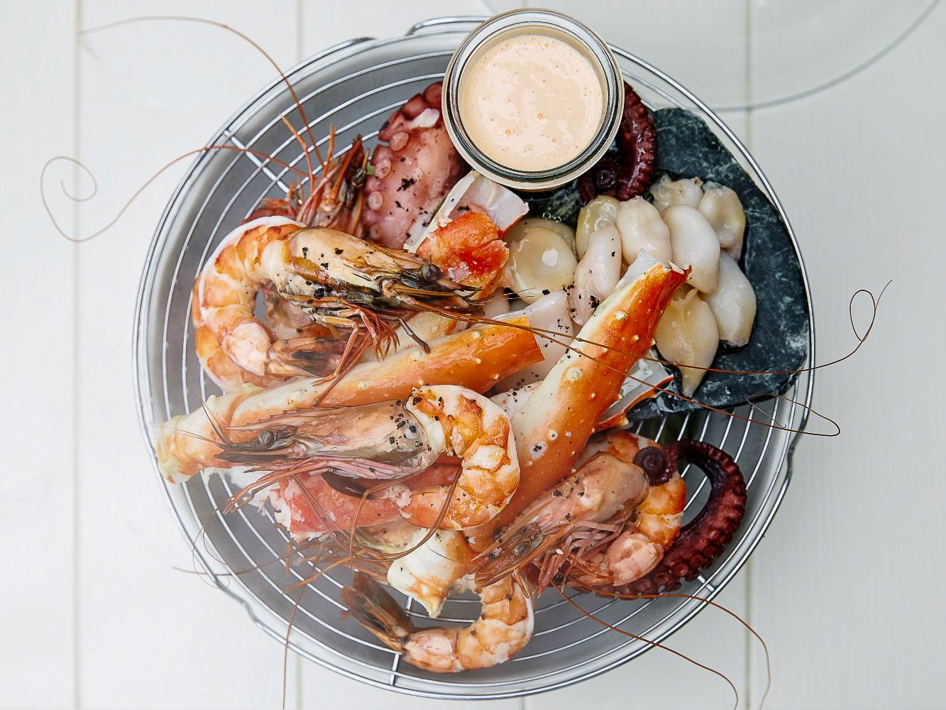 Плато морепродуктов