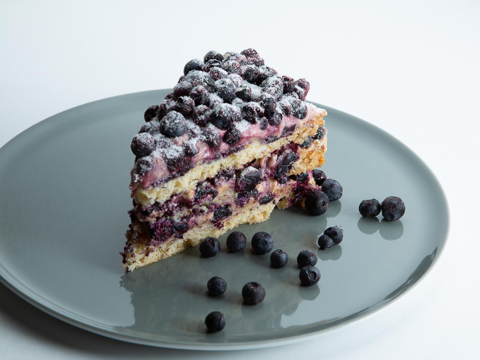 Торт Черничный