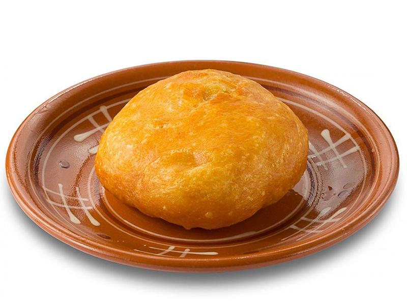 Пирожок постный жареный с картофелем