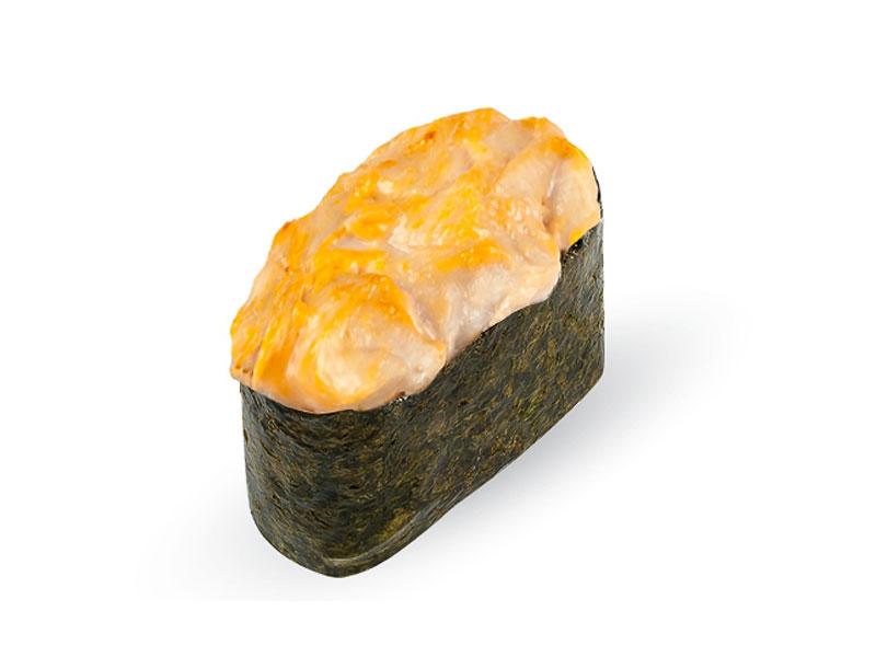 Суши запеченные Копченый лосось