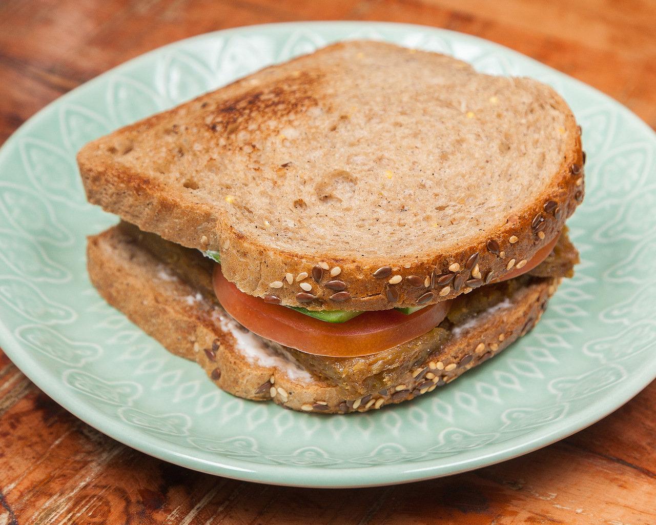 Сендвич с сейтаном