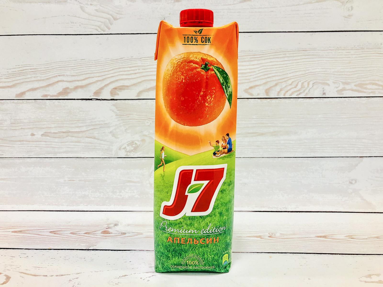 Сок J7 Апельсиновый