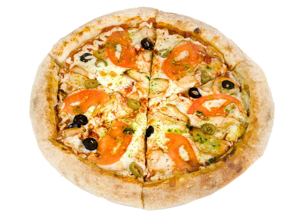 Пицца Чикен-оливия