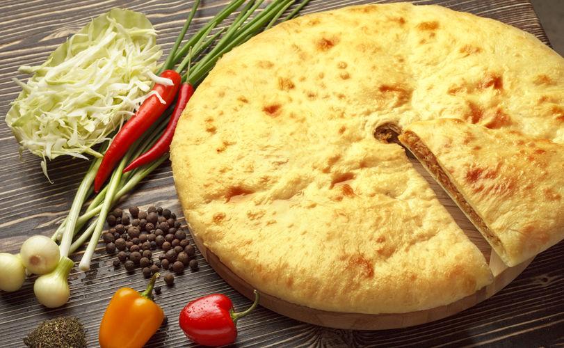 Осетинский пирог с капустой