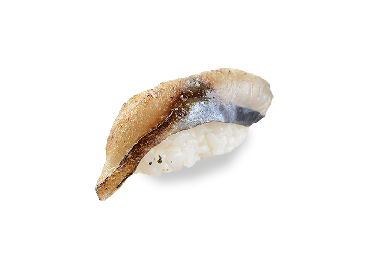 Суши Скумбрия с солью абури