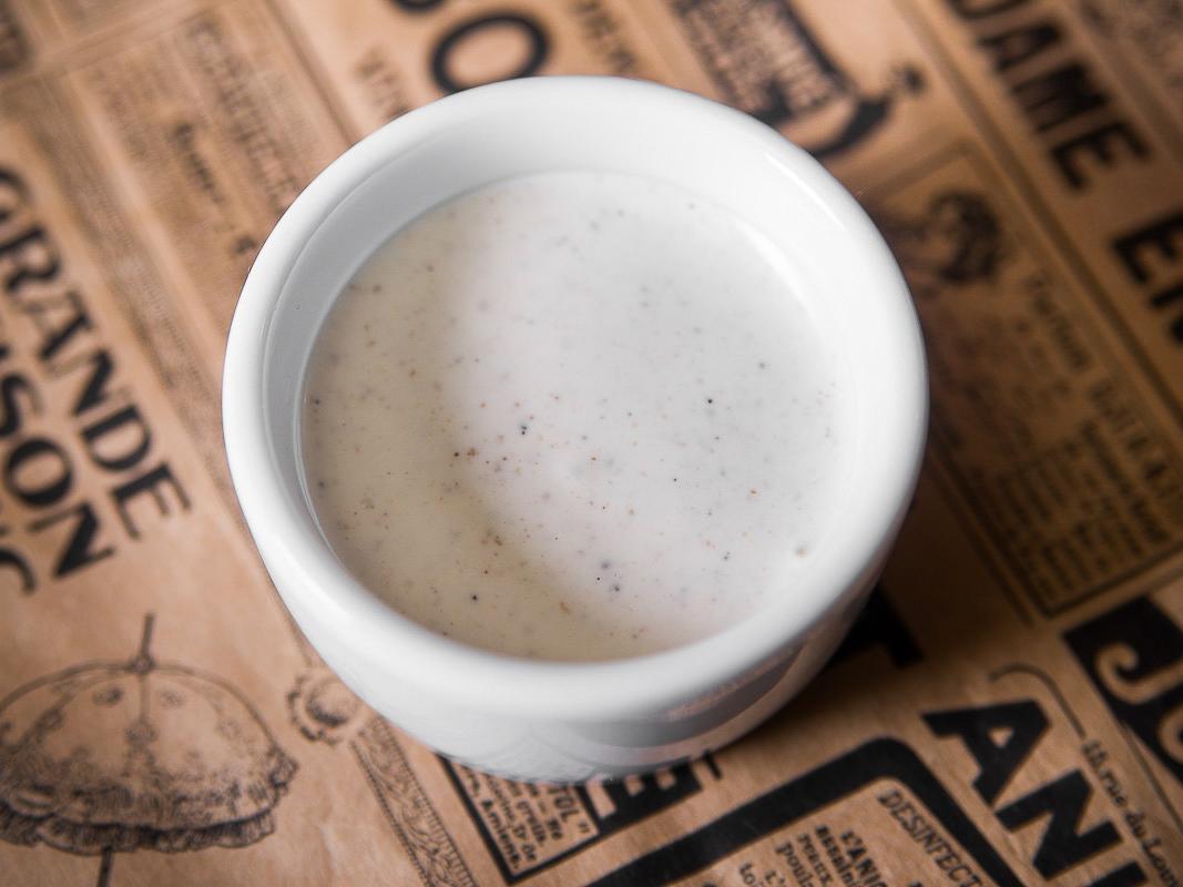 Белый соус в марокканском стиле