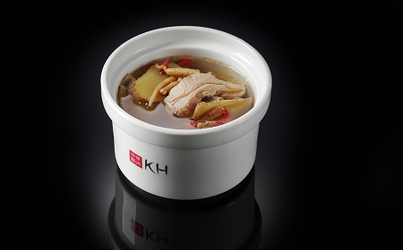 Целебный суп-бульон с курицей и кореньями (300 гр)