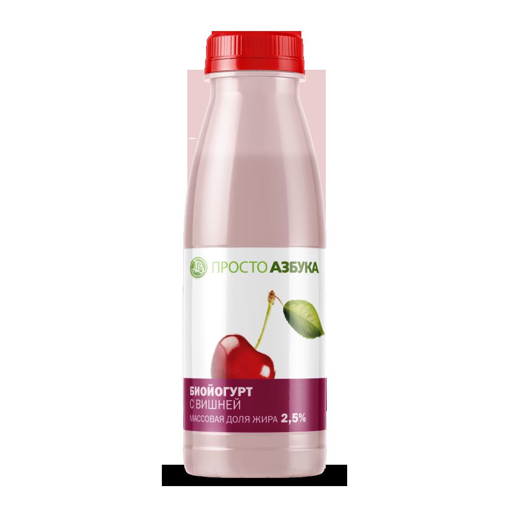 Биойогурт питьевой Вишня 2.5%