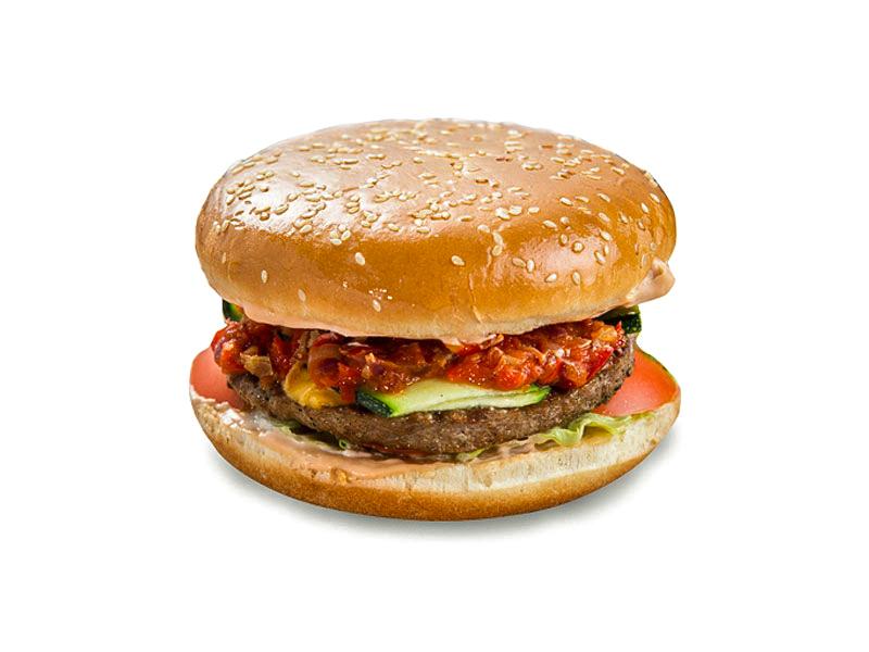 Мексиканский бургер