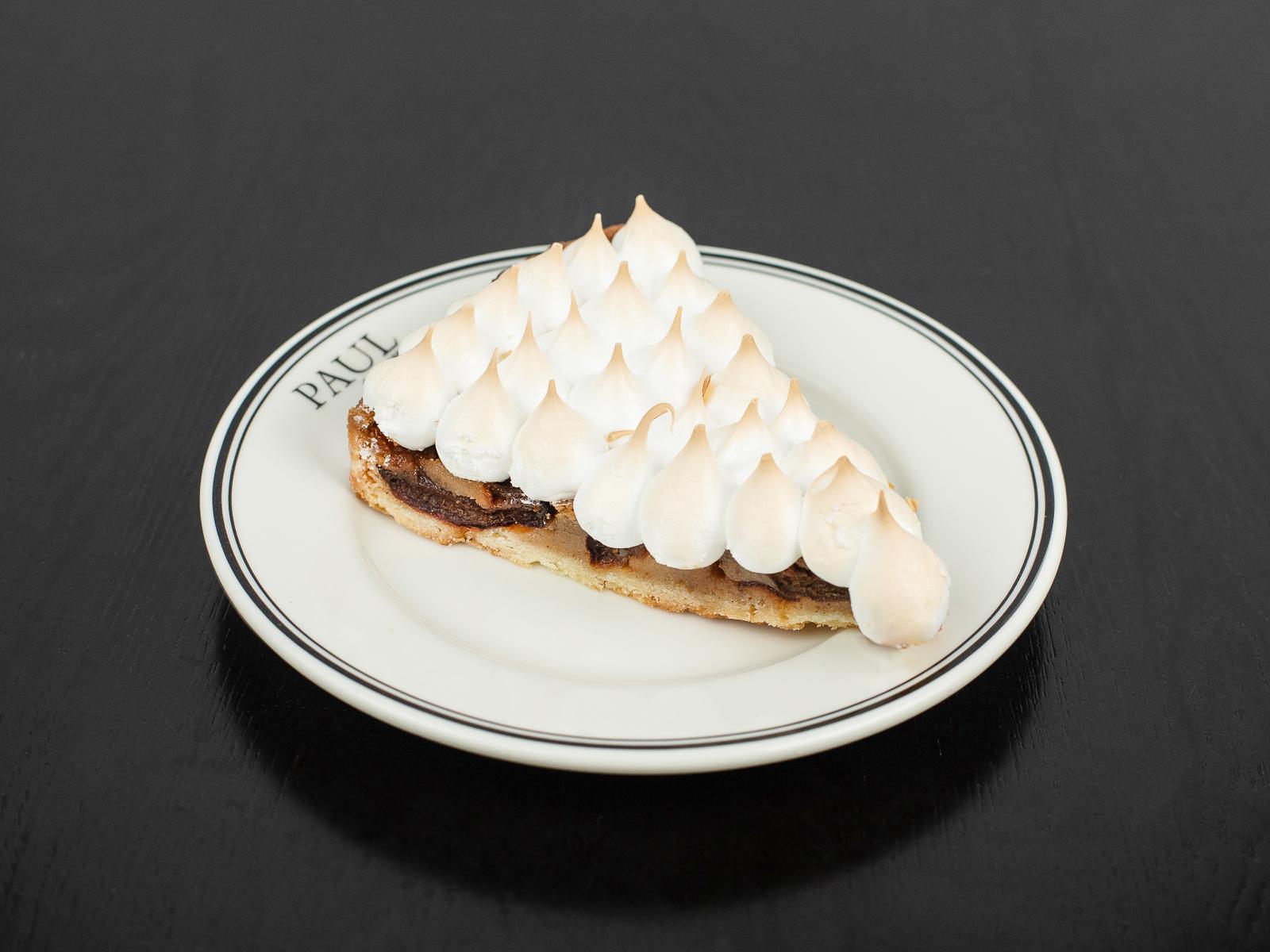 Пирог со сливой (порция)