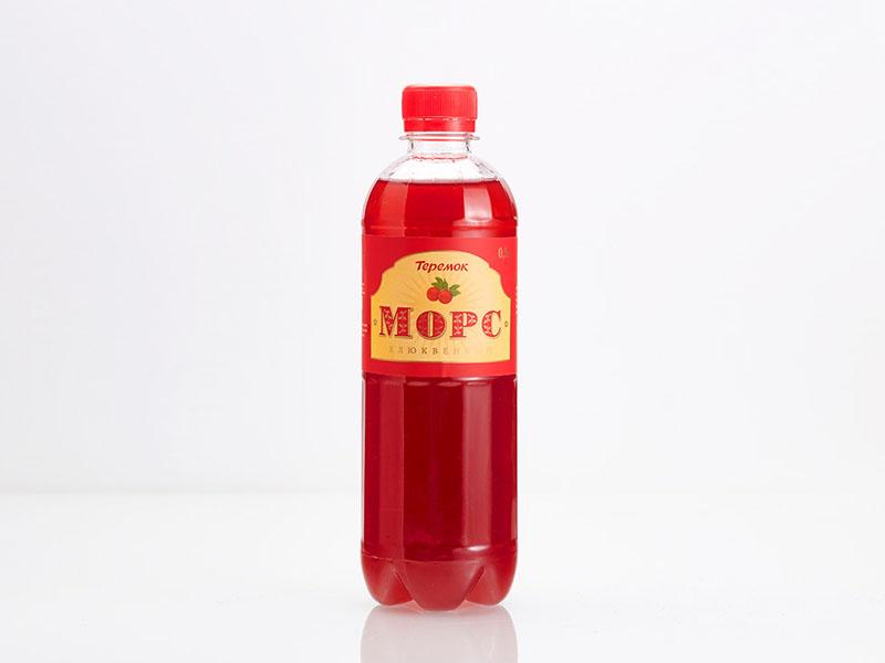 Морс в бутылке