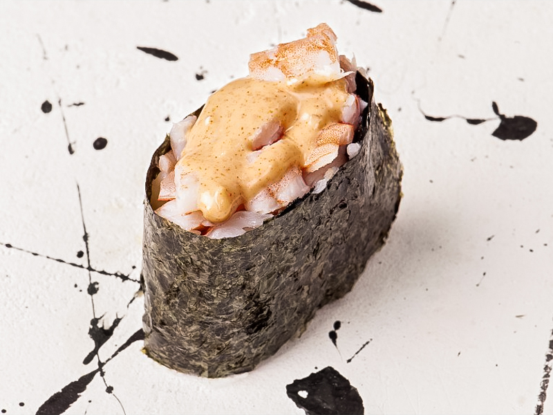 Спайси суши Креветка