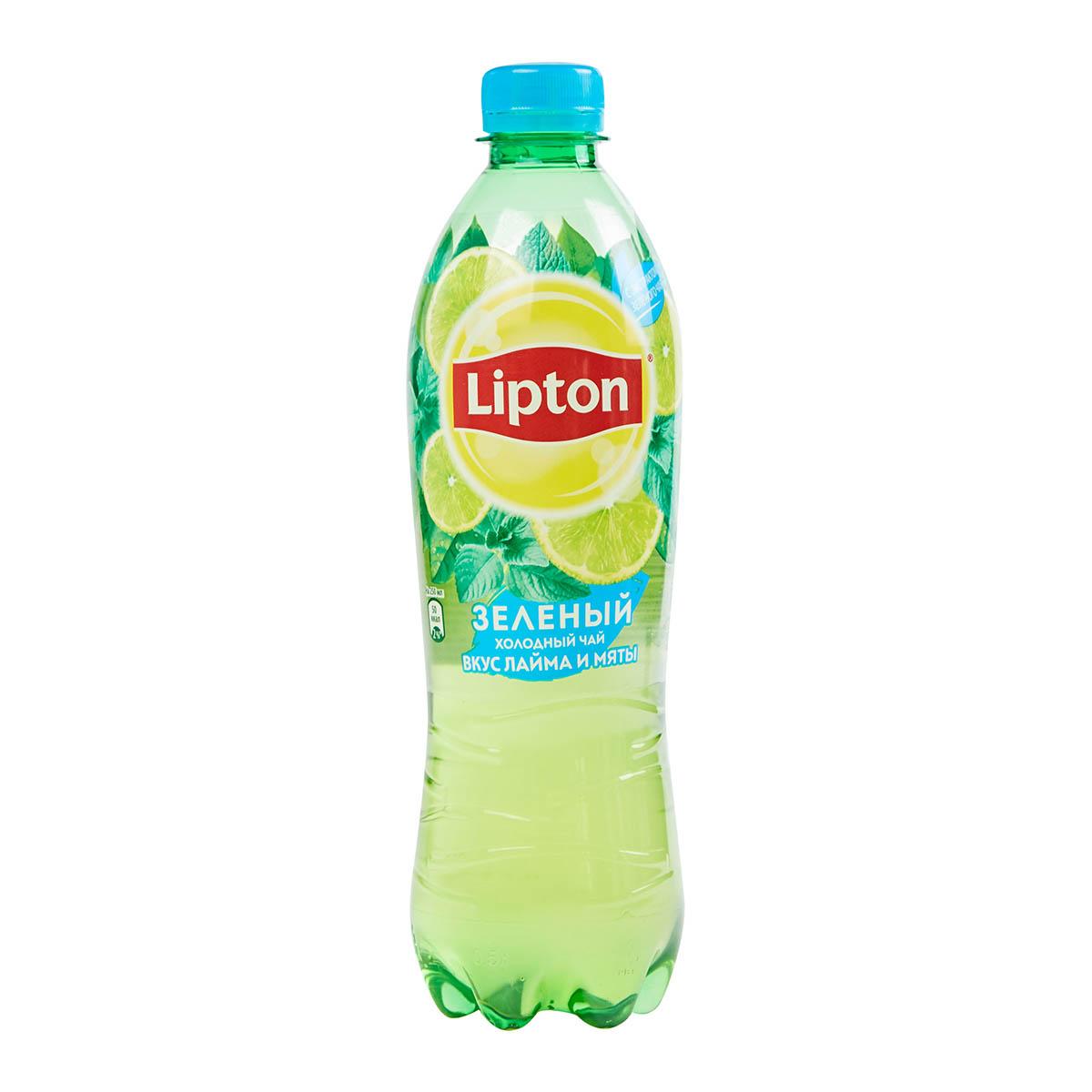 Lipton ice tea лайм-мята